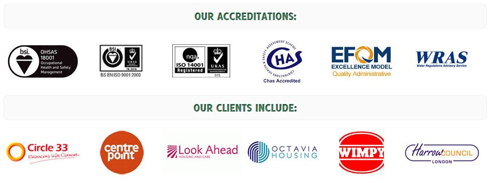 Accreditations & Clients