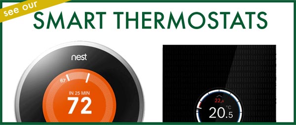 Smart thermostats available from VHL