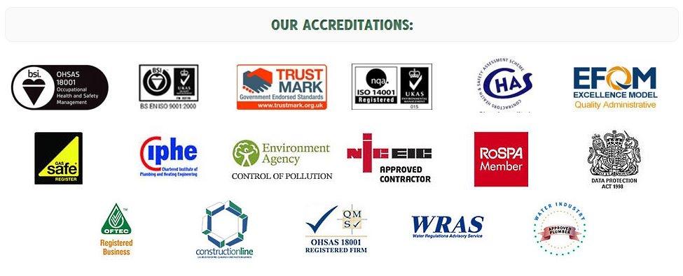 VHL Accreditations