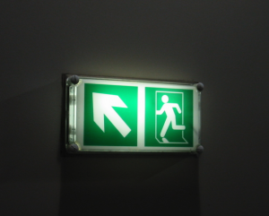 Illuminate emergency light