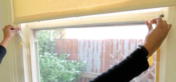 Double glazing film