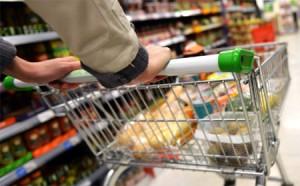 Food shopping on behalf of an OAP