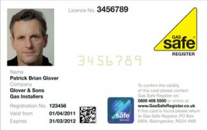 Gas Safety ID Card