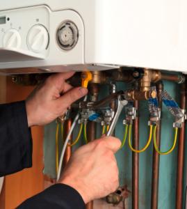 DIY boiler pressure fix