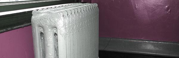 Old radiator