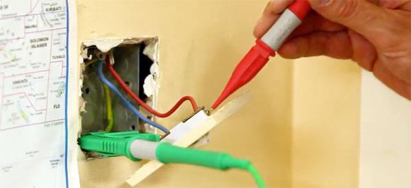 Plug socket testing