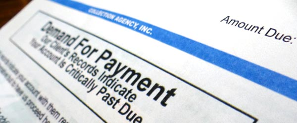 Payment due on energy bill
