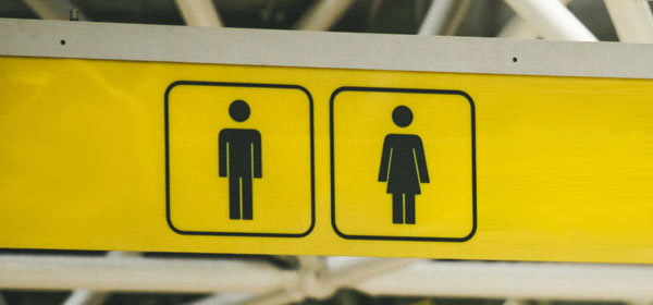 Male female toilet signs