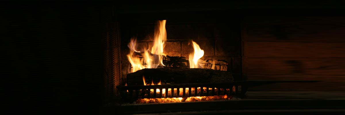 Fireplace - a source of draughts