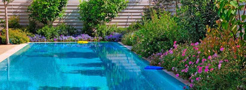 Outdoor, garden swimming pool
